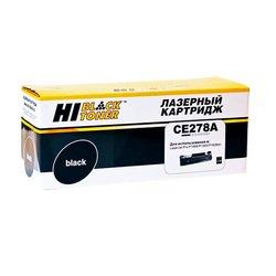 Картридж для HP LaserJet Pro P1566, P1606dn, M1536, M1530 (Hi-Black CE278A) (черный, с чипом) - Картридж для принтера, МФУКартриджи<br>Совместим с моделями: HP LaserJet Pro P1566, P1606dn, M1536, M1530.