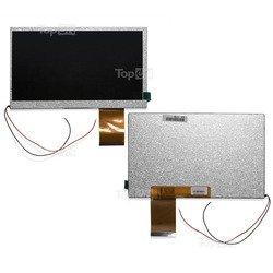 Матрица для планшета Ritmix RMD-750, Texet TM-7025, RoverPad 3WT71D (TopON TOP-WV-70L-TM7025) (серебристый) - Матрица, экран, дисплей для планшетаМатрицы, экраны, дисплеи для планшетов<br>Оригинальная матрица для планшета с диагональю 7.0quot;, разрешение 800x480.