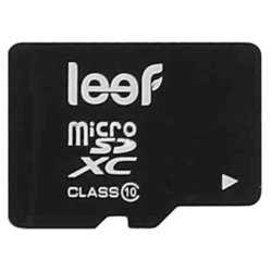 Leef microSDXC Class 10 64GB + SD adapter - Карта флэш-памятиКарты флэш-памяти<br>Leef microSDXC Class 10 64GB + SD adapter - microSDXC, 64 Гб