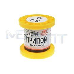 Припой-катушка ПОС-40 1,5 мм (с канифолью) - Паста, припойСопутствующие товары для пайки<br>Припой с канифолью, диаметр: 1.5 мм, масса: 50 г.