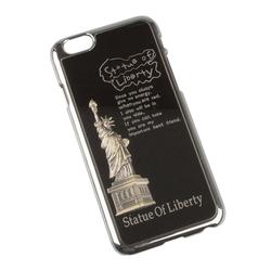 Чехол-накладка для Apple iPhone 6, 6s 4.7 (R0005518) (Statue of Liberty) - Чехол для телефонаЧехлы для мобильных телефонов<br>Плотно облегает корпус и гарантирует надежную защиту от царапин и потертостей.