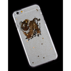 Чехол-накладка для Apple iPhone 6, 6s 4.7 (R0006180) (Тигр) - Чехол для телефонаЧехлы для мобильных телефонов<br>Плотно облегает корпус и гарантирует надежную защиту от царапин и потертостей.