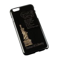 Чехол-накладка для Apple iPhone 6 Plus, 6s Plus 5.5 (R0006938) (Statue of Liberty) - Чехол для телефонаЧехлы для мобильных телефонов<br>Плотно облегает корпус и гарантирует надежную защиту от царапин и потертостей.