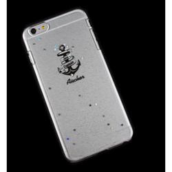 Чехол-накладка для Apple iPhone 6 Plus, 6s Plus 5.5 (R0006401) (Якорь) - Чехол для телефонаЧехлы для мобильных телефонов<br>Плотно облегает корпус и гарантирует надежную защиту от царапин и потертостей.