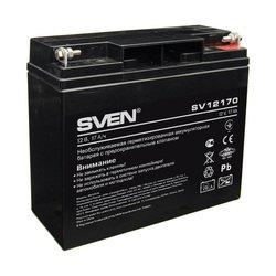 Аккумуляторная батарея Sven SV12170 (SV-0222017) - Батарея для ибпАккумуляторные батареи<br>Свинцово-кислотные необслуживаемые аккумуляторные батареи (АКБ) типа AGM – наиболее распространенный на сегодняшний день тип АКБ для резервного электропитания. Основные области применения: ИБП, световые, аварийные и охранные системы сигнализации, источники постоянного тока, системы автоматического управления.