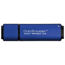 Kingston DataTraveler Vault Privacy 3.0 64GB (DTVP30/64GB) (синий)