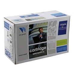 Картридж для HP Color LaserJet CP4025, CP4525, CM4540 (NV Print CE262A) (желтый) - Картридж для принтера, МФУ