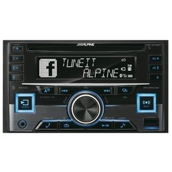Alpine CDE-W296BT - АвтомагнитолаАвтомагнитолы<br>Alpine CDE-W296BT - 4x50 Вт,<br>тюнер (FM, СВ, ДВ), CD, MP3, WMA, поддержка iPod, Bluetooth, выход на сабвуфер, разъем USB, монохромный дисплей, 2 DIN
