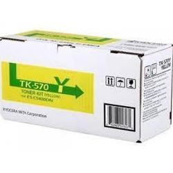 Тонер-картридж для Kyocera FS-C5400DN (TK-570) (желтый) - Картридж для принтера, МФУ  - купить со скидкой