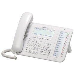 Panasonic KX-NT556RU (белый) - IP телефонVoIP-оборудование<br>VoIP-телефон, протоколы связи: MGCP, громкая связь (Hands Free), подключение гарнитуры, встроенный черно-белый LCD-дисплей, порты: WAN, LAN.