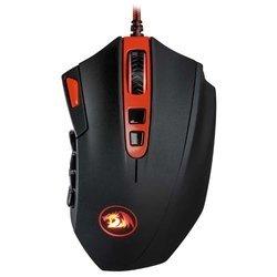 Redragon Firestorm Black-Red USB - МышьМыши<br>Redragon Firestorm Black-Red USB - лазерная мышь, проводная, 16400 dpi, USB, цвет: несколько цветов
