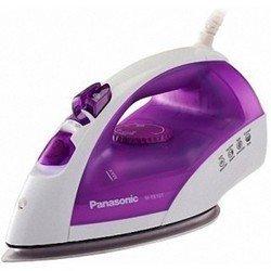 Утюг Panasonic NI-E610TVTW (фиолетовый/белый) - УтюгУтюги<br>Мощность 1950 Вт, длина шнура 1.8 м, система самоочистки.