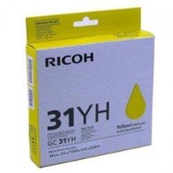Картридж для Ricoh Aficio GX e5550N, e7700N (GC 31YH 405704) (желтый) - Картридж для принтера, МФУКартриджи<br>Совместим с моделями: Ricoh Aficio GX e5550N, e7700N.