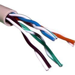 Кабель UTP Telecom UTP4-TC1000C5EL-CU-IS (бухта 305 м) - КабельСетевые аксессуары<br>Кабель одножильный UTP 4 пары (неэкранированная витая пара), категория 5e, материал проводника: медь, оболочка PVC (поливинилхлорид, ПВХ), диаметр проводника: 24AWG (0.51 мм).