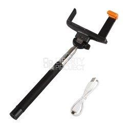 Монопод для селфи Liberty Project MPD-2 (R0006060) (черный) - Аксессуар для селфиМоноподы и пульты для селфи<br>Телескопический монопод для съемок селфи, с Bluetooth кнопкой съемки для телефонов, длина 1.2 м. Совместимость: устройства с шириной от 60 до 75 мм, гнездо камеры 1/4 дюйма.