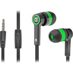 Defender Pulse-420 (черный-зеленый) - НаушникиНаушники и Bluetooth-гарнитуры<br>Вставные наушники (затычки) с микрофоном, импеданс 32 Ом, чувствительность 103 дБ, диаметр мембраны 10 мм, разъём mini jack 3.5 mm, длина провода 1.2 м, вес 38 г, сменные амбушюры.