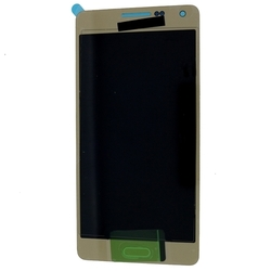 Дисплей для Samsung Galaxy A5 A500F в сборе (0L-00001719) (золотистый) - Дисплей, экран для мобильного телефонаДисплеи и экраны для мобильных телефонов<br>Полный заводской комплект замены дисплея для Samsung Galaxy A5 A500F. Стекло, тачскрин, экран для Samsung Galaxy A5 в сборе. Если вы разбили стекло - вам нужен именно этот комплект, который поставляется со всеми шлейфами, разъемами, чипами в сборе.