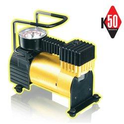 Качок K50 - КомпрессорКомпрессоры<br>Автокомпрессор Качок К50 является оптимальным выбором для владельцев легковых автомобилей и городских внедорожников.