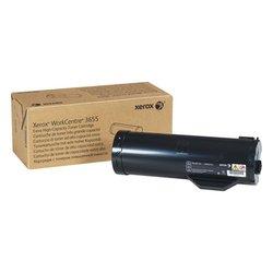Тонер-картридж для Xerox WorkCentre 3655 (106R02741) (черный) - Картридж для принтера, МФУ