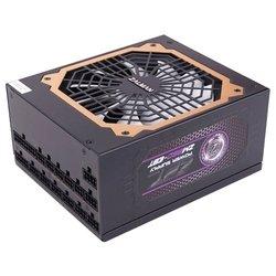 Zalman ZM850-EBT 850W - Блок питанияБлоки питания<br>Zalman ZM850-EBT 850W - 850 Вт, активный PFC, 1 вентилятор , отстегивающиеся кабели