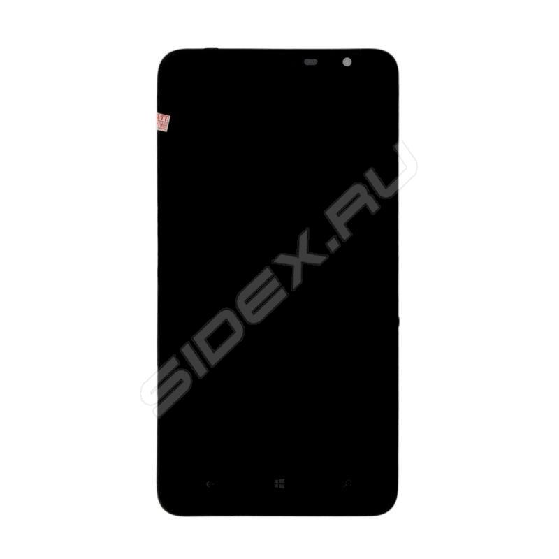 Дисплей для Nokia Lumia 1320 с тачскрином в сборе (R0002594) - Дисплей, экран для мобильного телефона, Черный