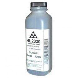 Тонер для Brother HL-2030, HL-2035, HL-2040, HL-2075, HL-2140, HL-2150, HL-2170 (AQC 15-043 120G) (черный) (120 гр)  - Тонер для принтера