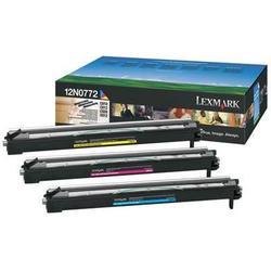 Набор фотобарабанов для Lexmark C910, C912, C920, X912e, C920n, C920dn, C920dtn, C910n, C910dn (12N0772) (цветной) - Фотобарабан для принтера, МФУ