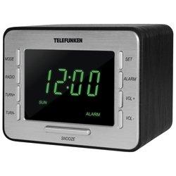 TELEFUNKEN TF-1508 - РадиоприемникРадиоприемники<br>TELEFUNKEN TF-1508 - радиобудильник, элементы питания: 4xAA, питание от сети, фиксированных настроек: 20, прием: FM, УКВ
