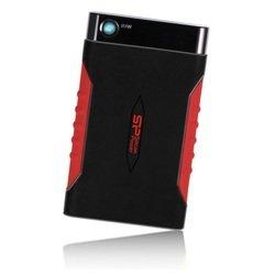 Silicon Power Armor A15 1Tb (SP010TBPHDA15S3L) (черный-красный) - Внутренний жесткий диск HDDВнутренние жесткие диски<br>Внешний жесткий диск, обладает противоударными функциями, интерфейс подключения USB 3.0, объем накопителя 1024Гб, форм-фактор диска 2.5quot;.