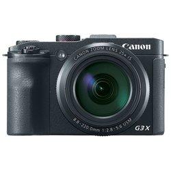 Canon PowerShot G3 X - Фотоаппарат цифровойЦифровые фотоаппараты<br>Canon PowerShot G3 X - 20.90 МП, размер матрицы: 1amp;quot;, 25х зум, диафрагма: F2.80 - 5.60, оптический стабилизатор, SD, поддержка RAW, Wi-Fi, скорость съемки: 5.90 кадров/с, видео разрешением до 1920x1080