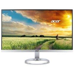 Acer H277Hsmidx (черно-серебристый) - МониторМониторы<br>ЖК-монитор с диагональю 27quot;, тип матрицы экрана TFT IPS, разрешение 1920x1080 (16:9), подключение: DVI, HDMI, DisplayPort, яркость 250 кд/м2, время отклика 4 мс, встроенные динамики.