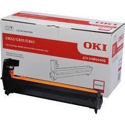 Фотобарабан для Oki C822, C831, C841 (44844406) (пурпурный) - Фотобарабан для принтера, МФУФотобарабаны для принтеров и МФУ<br>Фотобарабан совместим с моделями: Oki C822, C831, C841.