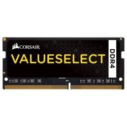 Corsair CMSO4GX4M1A2133C15 (черный) - Память для компьютераМодули памяти<br>Память компьютерная, DDR4 2133 (PC 17000) SODIMM 256 pin, 1x4 Гб, 1.2 В, CL 15.