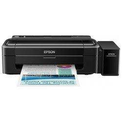Epson L312 - Принтер, МФУПринтеры и МФУ<br>Epson L312 - принтер, A4, печать  пьезоэлектрическая струйная, 4-цветная, 33 стр/мин ч/б, 15 стр/мин цветн., USB, печать фото