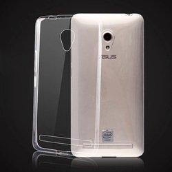 Силиконовый чехол-накладка для Asus Zenfone 6 A600CG (iBox Crystal YT000007320) (прозрачный) - Чехол для телефонаЧехлы для мобильных телефонов<br>Чехол-накладка плотно облегает корпус и гарантирует надежную защиту от царапин и потертостей.