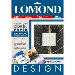 Дизайнерская бумага A4 (10 листов) (Lomond 0936041) (био макро) - БумагаОбычная, фотобумага, термобумага для принтеров<br>Бумага предназначена для высококачественной струйной печати.