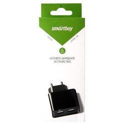 Универсальное сетевое зарядное устройство, адаптер 2хUSB, 2А (Smartbuy EZ-CHARGE SBP-6000) (черный) - Сетевой адаптер 220v - USB, ПрикуривательСетевые адаптеры 220v - USB, Прикуриватель<br>Универсальное сетевое зарядное устройство, 2 USB-порта, выходной ток: 1А (1 порт), 2А (2 порт), без кабеля.