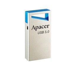 Apacer AH155 16Gb (AP16GAH155U-1) (синий) - USB Flash driveUSB Flash drive<br>Флэш-накопитель объемом 8 Гб, интерфейс подключения USB 3.0, имеется отверстие под брелок.