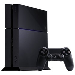 Sony PlayStation 4 500Gb + 1хDualshock 4 (CUH-1208A) (черный)