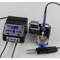 Паяльная станция с термопинцетом YIHUA 938BD+ (16178) - Паяльное оборудованиеПаяльное оборудование<br>Большой четкий LCD-дисплей. Микроконтроллер SAMSUNG. Быстрый нагрев. Высококачественные материалы обеспечивают долгую работу. Ручка паяльника сделана из силикона.