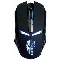 Oklick 795G USB (черный) - АксессуарКлавиатуры, мыши, комплекты<br>Игровая мышь, интерфейс подключения USB, 6 кнопок, разрешение оптического сенсора 2400dpi, длина провода 1.5 м., голубая неоновая подсветка.
