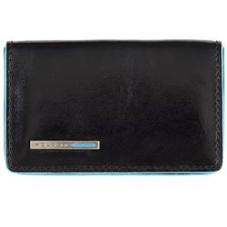 Чехол для кредитных, визитных карт Piquadro Blue Square (PP1263B2, N) телячья кожа - Кожа