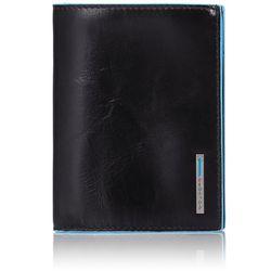 Бумажник Piquadro Blue Square (PU1129B2, N) телячья кожа - Кожа
