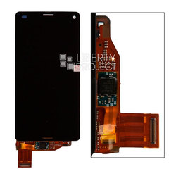 Дисплей для Sony Xperia Z3 compact в сборе с тачскрином (0L-00001889) - Дисплей, экран для мобильного телефонаДисплеи и экраны для мобильных телефонов<br>Полный заводской комплект замены дисплея для Sony Xperia Z3 compact. Стекло, тачскрин, экран для Sony Xperia Z3 compact в сборе. Если вы разбили стекло - вам нужен именно этот комплект, который поставляется со всеми шлейфами, разъемами, чипами в сборе.