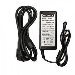 Адаптер питания для ноутбуков Dell 15V 3A (PALMEXX PA-138) (5.5*2.5) (черный) - Сетевая, автомобильная зарядка для ноутбука