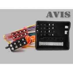 ISO-переходник для MERCEDES-BENZ 2004+, OPEL 2003+ (AVIS AVS01ISO (#21)) - КабельКабели, переходники<br>Переходник ISO для подключения универсальных головных устройств 1DIN 2DIN.