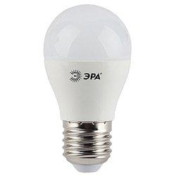 Светодиодная лампа ЭРА LED smd P45-7w-827-E27 - ЛампочкаЛампочки<br>Надежно работает при пониженном напряжении и обеспечивает комфортную цветовую температуру.
