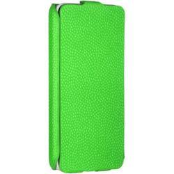 Чехол-флип для Samsung Galaxy J1 (iBox Premium YT000007700) (зеленый) - Чехол для телефонаЧехлы для мобильных телефонов<br>Чехол плотно облегает корпус и гарантирует надежную защиту от царапин и потертостей.