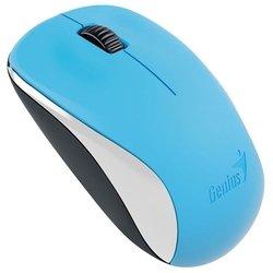 Genius NX-7000 Blue USB - МышьМыши<br>Genius NX-7000 Blue USB - мышь, беспроводная (радиоканал), 1200 dpi, USB, цвет: голубой