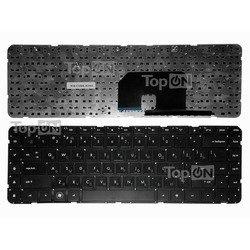 Клавиатура для ноутбука HP Pavilion DV6Z, DV6T, DV6-3000, DV6-3100, DV6-3300 Series (TOP-81093) (черный) - Клавиатура для ноутбука, TopOn  - купить со скидкой